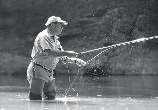 Basics of the Fly Rod Cast