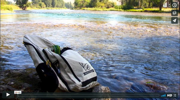 "Introducing the ""Seeker Series"" Fly Fishing Sling Pack"