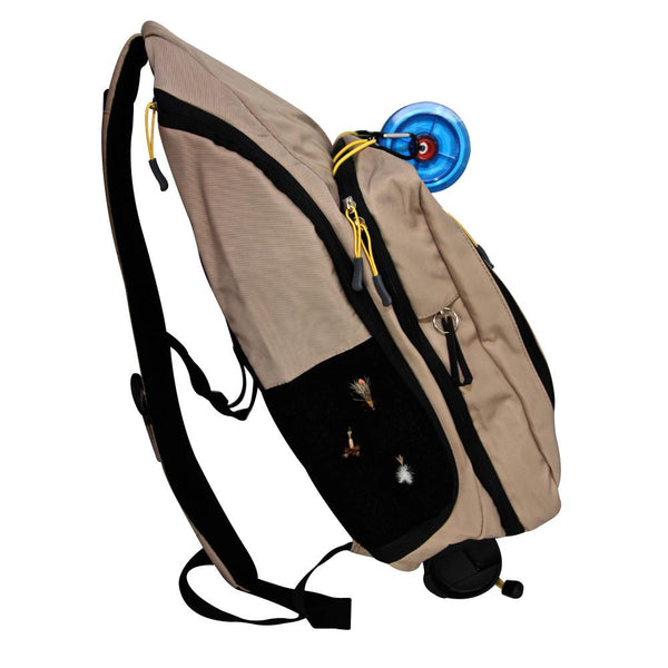 Sling Pack or Fly Fishing Vest?  What is the Right Choice for You?