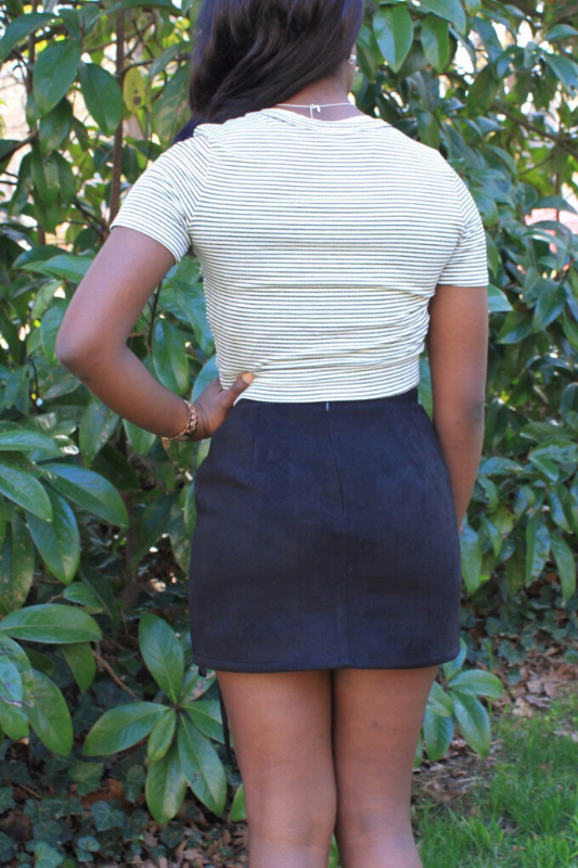 Scarlett Lace-Up Skirt