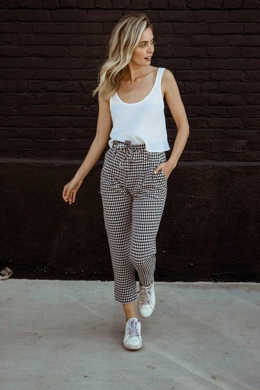 Brunch Date Gingham Pants