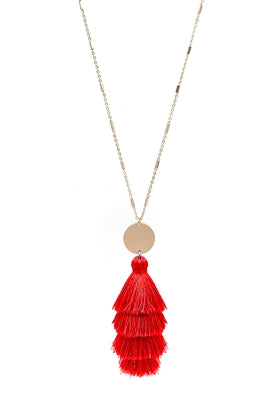 San Andreas Tassel Necklace