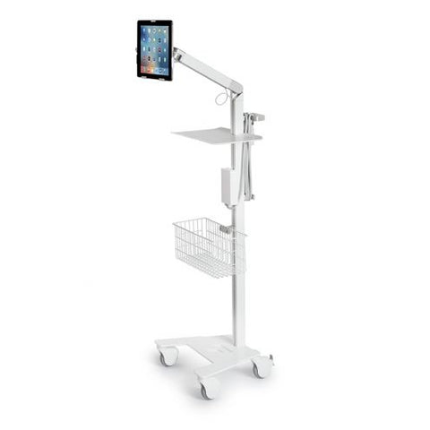 Nova Pro Hospital Grade Point of Care Medical Tablet Station - Includes USB Stethoscope & Software, Headset & ExamCam - Please Call to Order 281-340-2013