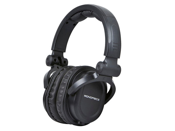 Monoprice Over the ear Pro Headphones - LOT OF 5 $75 ($15 ea) - NO SINGLE SALES - SORRY OUT OF STOCK