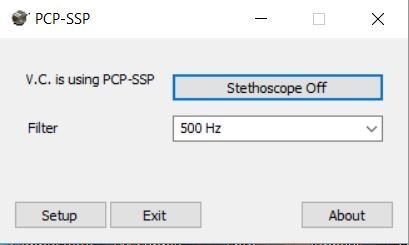 PCP-SSP In-Band Telemedicine Stethoscope Software - For Use with PCP-USB Stethoscope Only (Optional But Recommended)