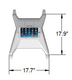 Tryten Nova Pro Medical Tablet Station - Hospital Grade - Premium - Please Call to Order 281-340-2013