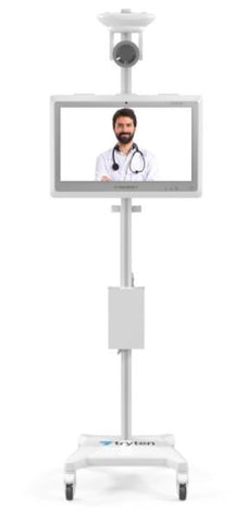 Tryten Nova Tall TeleHealth Assistant - Hospital Grade - Premium w/ Diagnostic Devices- Call for Quotes 281-340-2013