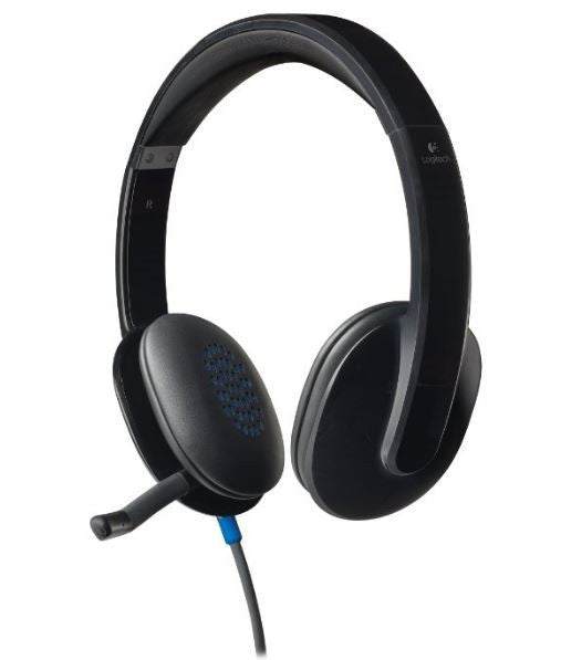 SORRY OUT OF STOCK Headset - Logitech h540 USB Echo Cancelling Headset - ON EAR - USB - WITH MIC