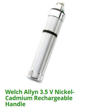 Welch Allyn 3.5 V Nickel-Cadmium Rechargeable Handle