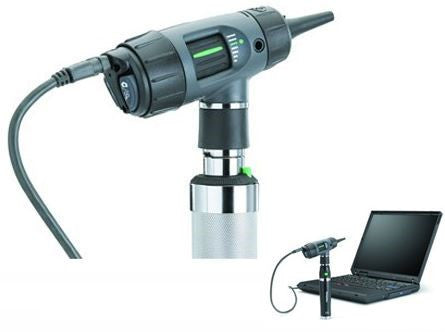 Welch Allyn Digital Macro View USB Otoscope w/ Charging Handle & Disposable Specula