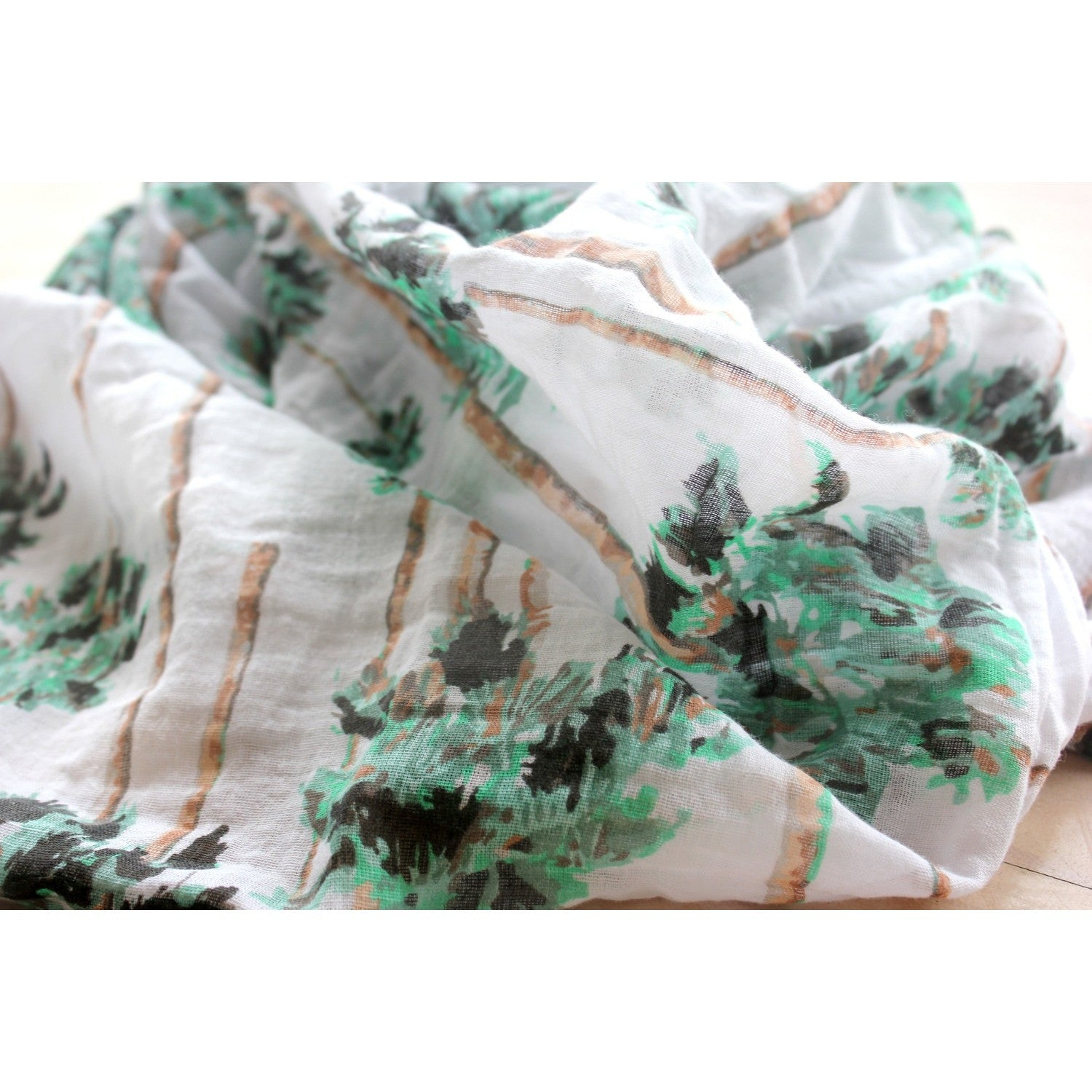 Organic Swaddle - Palm - Boutique Wanderlust