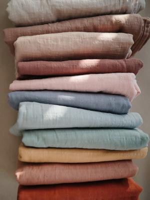 Muslin Swaddle Blanket | 100% Organic Cotton (Fog)