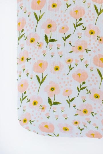 Bloom Crib Sheet - Boutique Wanderlust