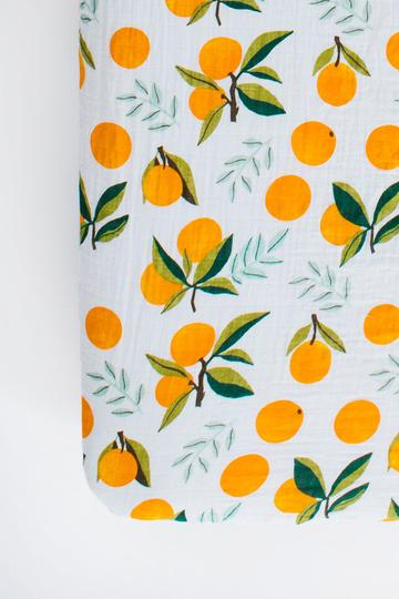Clementine Crib Sheet - Boutique Wanderlust