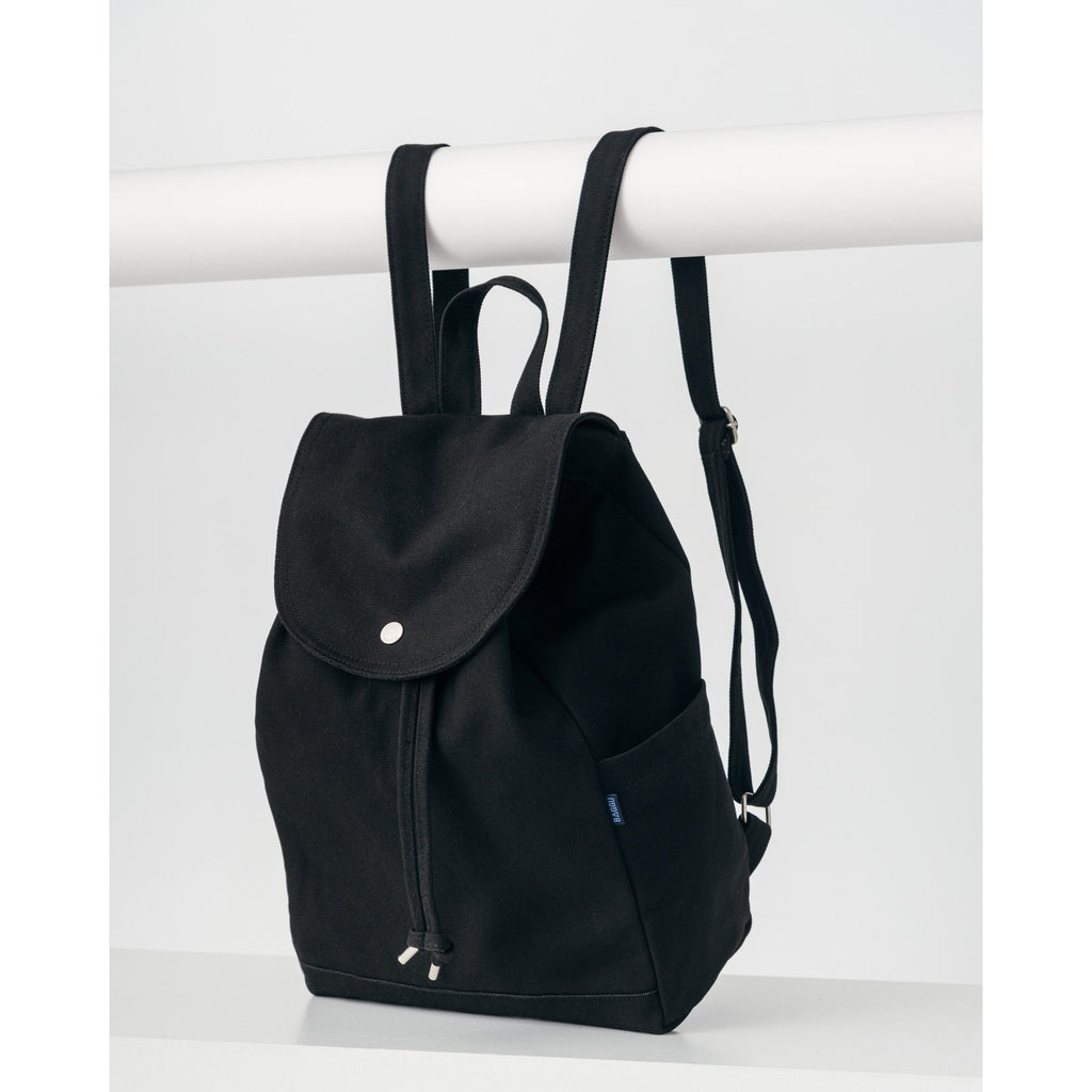 Drawstring Backpack - Black - Boutique Wanderlust
