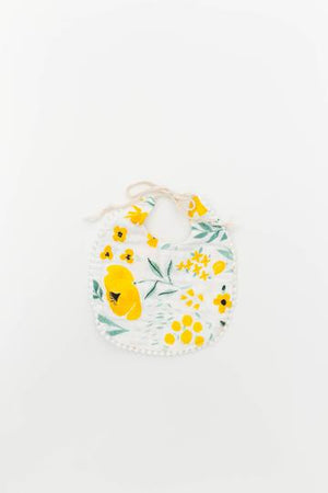 BUTTERCUP BLOSSOM AND MUSTARD HERRINGBONE BIB PACK - Boutique Wanderlust