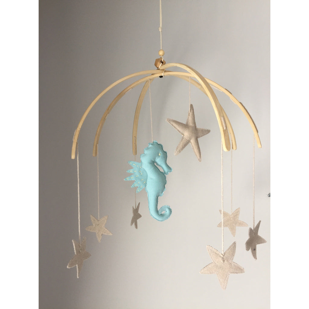 Under The Sea Mobile - Seahorse - Boutique Wanderlust