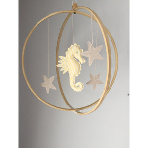 Under The Sea Orb Mobile - Seahorse - Boutique Wanderlust