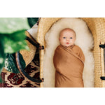 Mustard Stretch Swaddle - Boutique Wanderlust