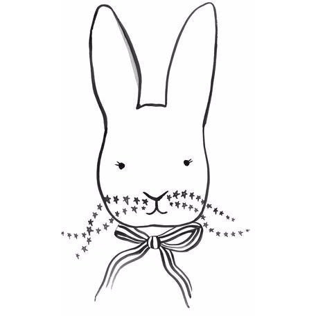 Wall decor Art Print - Bunny - Boutique Wanderlust