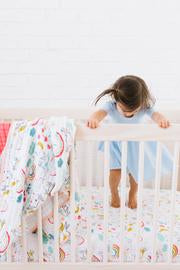 Unicorn Crib Sheet - Boutique Wanderlust