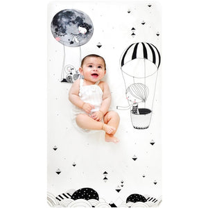 Frieda & The Balloon Crib Sheet - Boutique Wanderlust