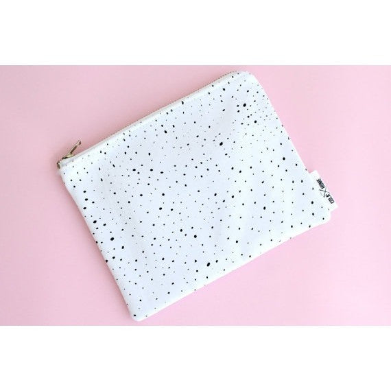 Multi Purpose Pouch - Black dots - Boutique Wanderlust