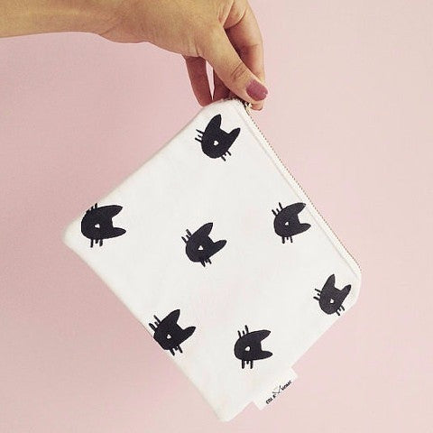 Multi Purpose Pouch - Cat Print - Boutique Wanderlust