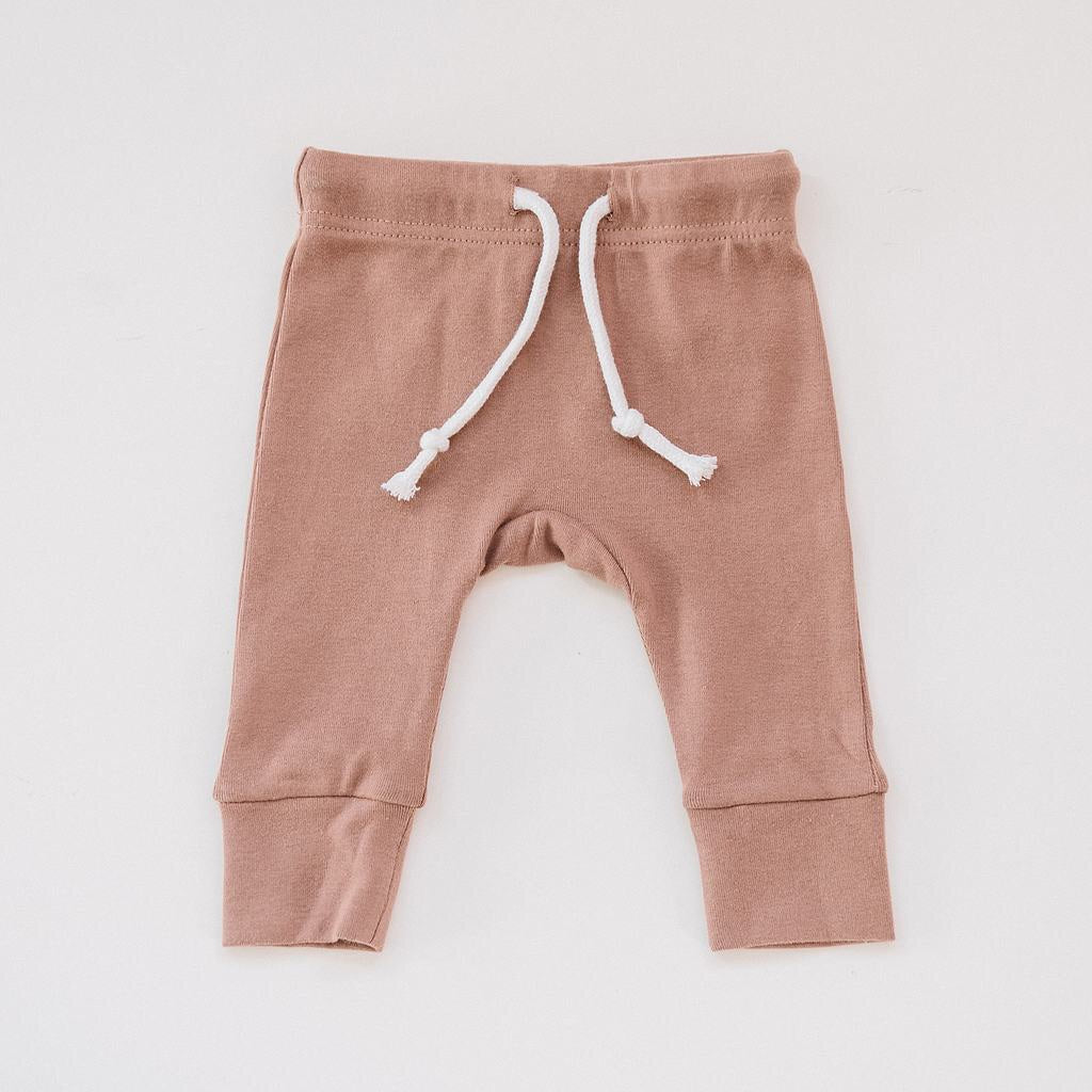 Cotton Jersey pants / Blush