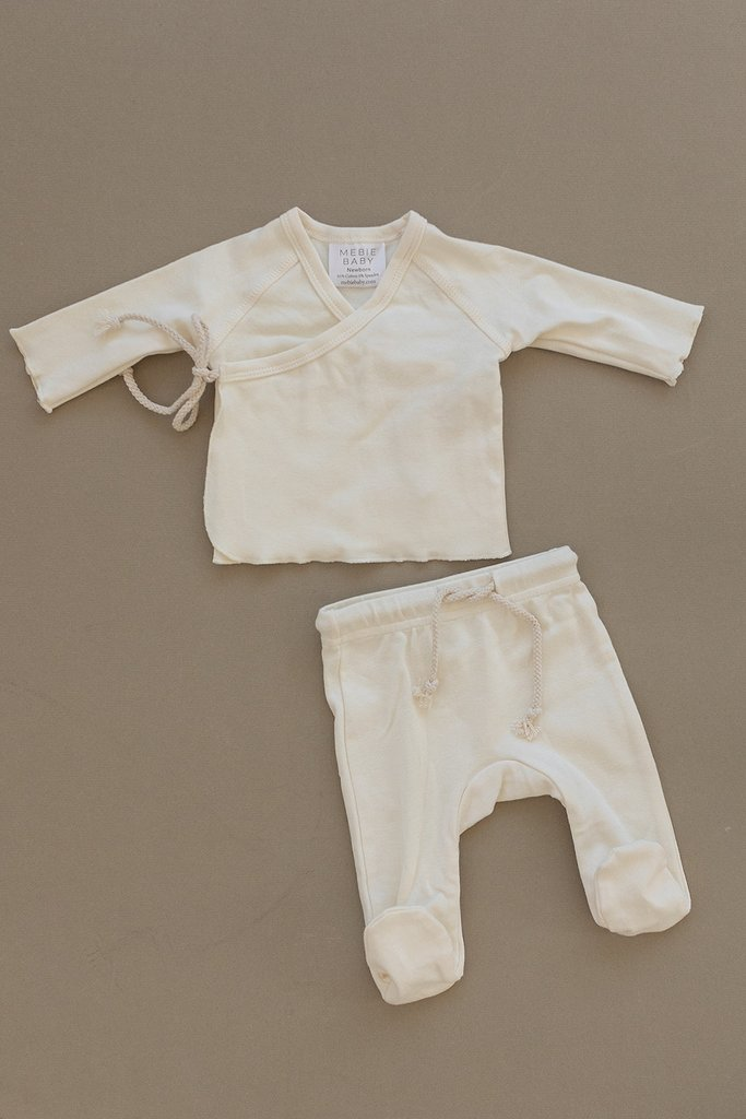 Cream Cotton Layette Set-Pre-Order