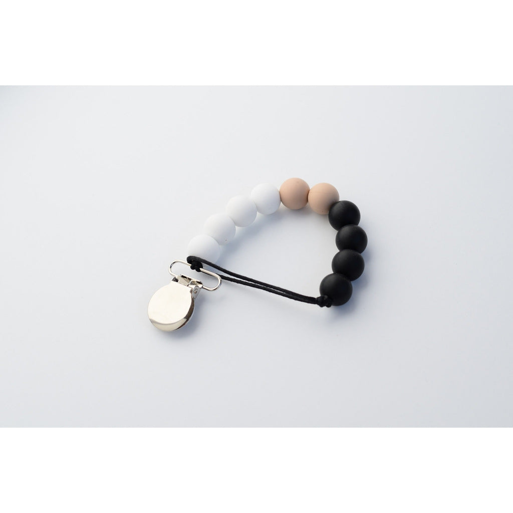 Soothing Clip - Colorblock Black-White-Oat - Boutique Wanderlust