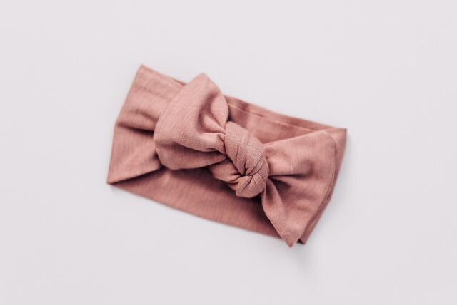 Dusty Rose Head Wrap - Boutique Wanderlust