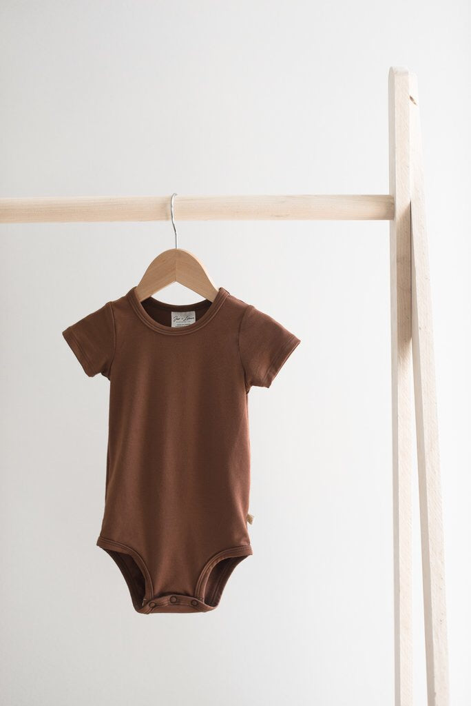 Short Sleeve Onesie - Earth