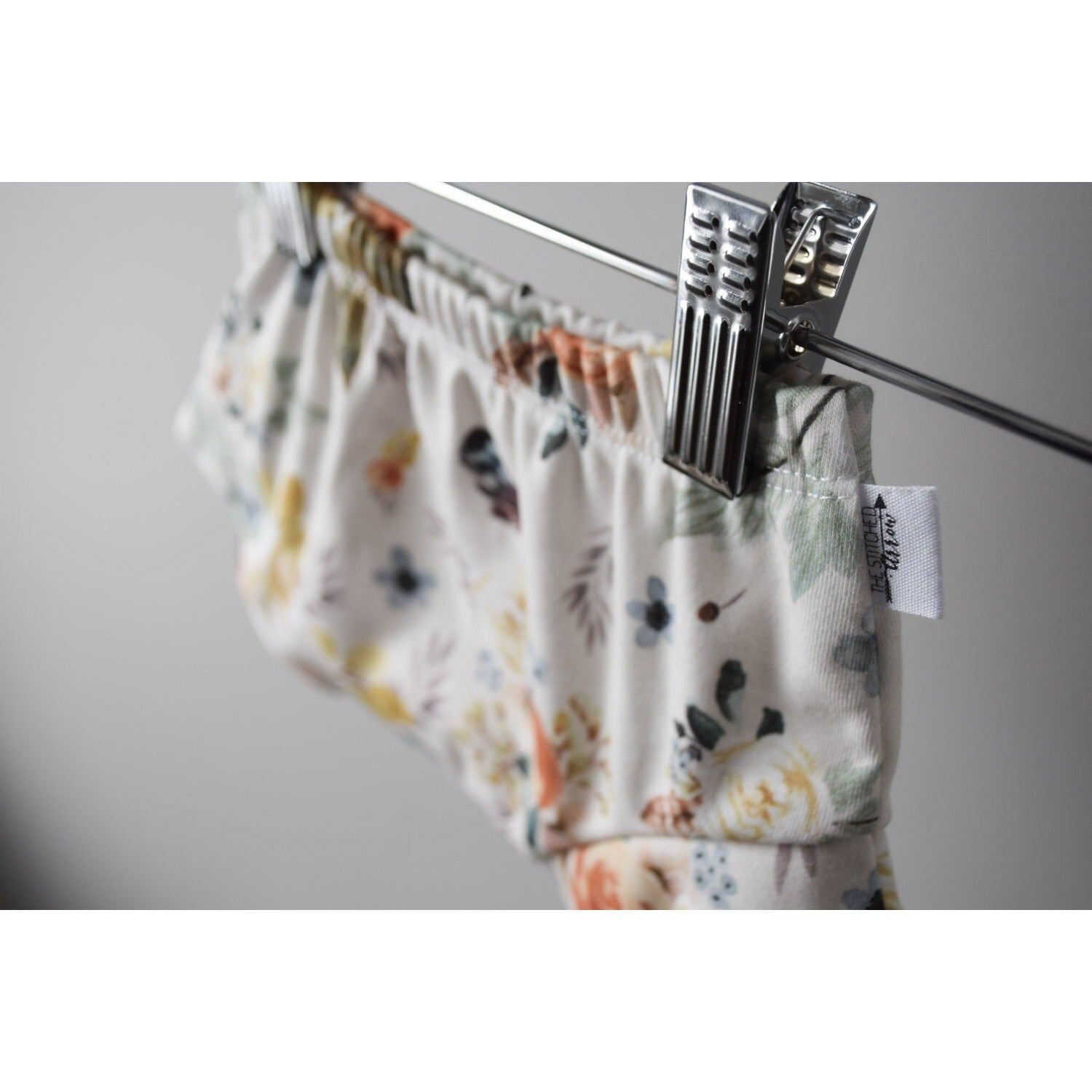 VINTAGE FLORAL 100% ORGANIC COTTON SHORTIES - Boutique Wanderlust