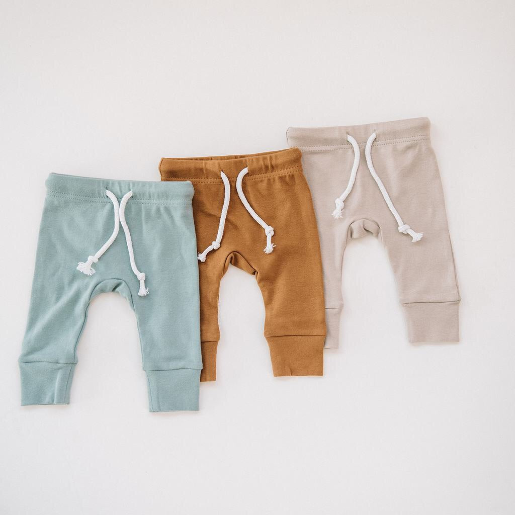 Cotton Jersey pants / Sea