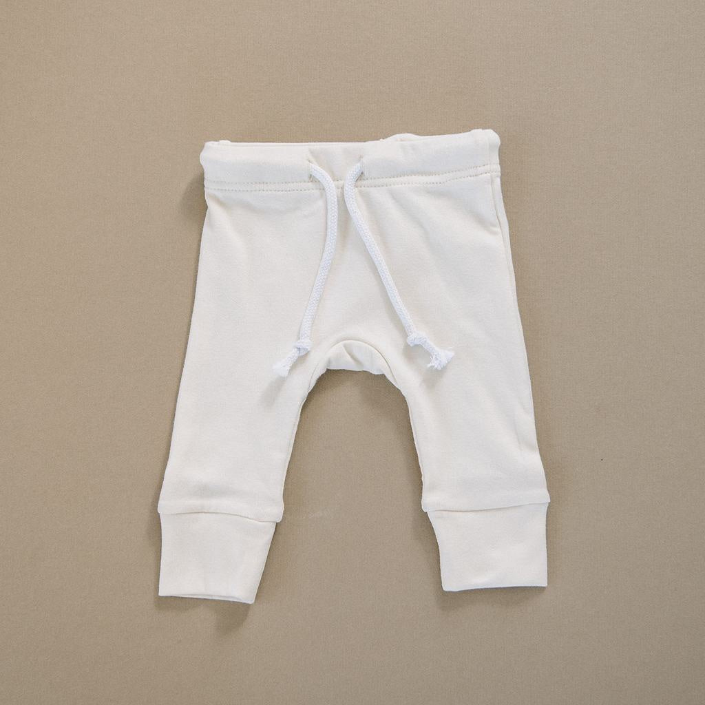 Cotton Jersey pants / Cream