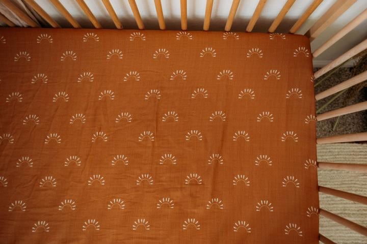Sundown Crib Sheets
