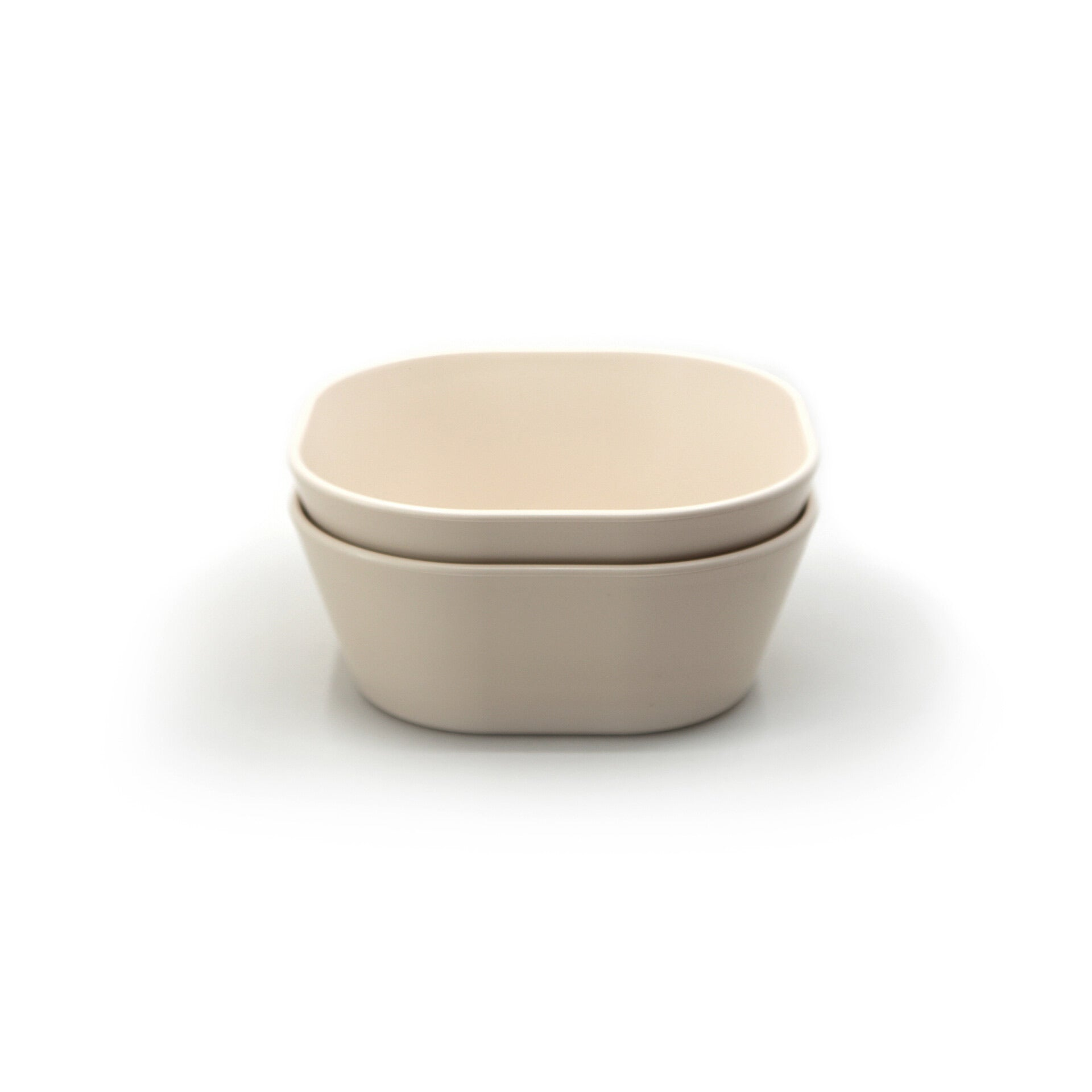 Square Dinnerware Bowl, Set of 2 (Ivory)