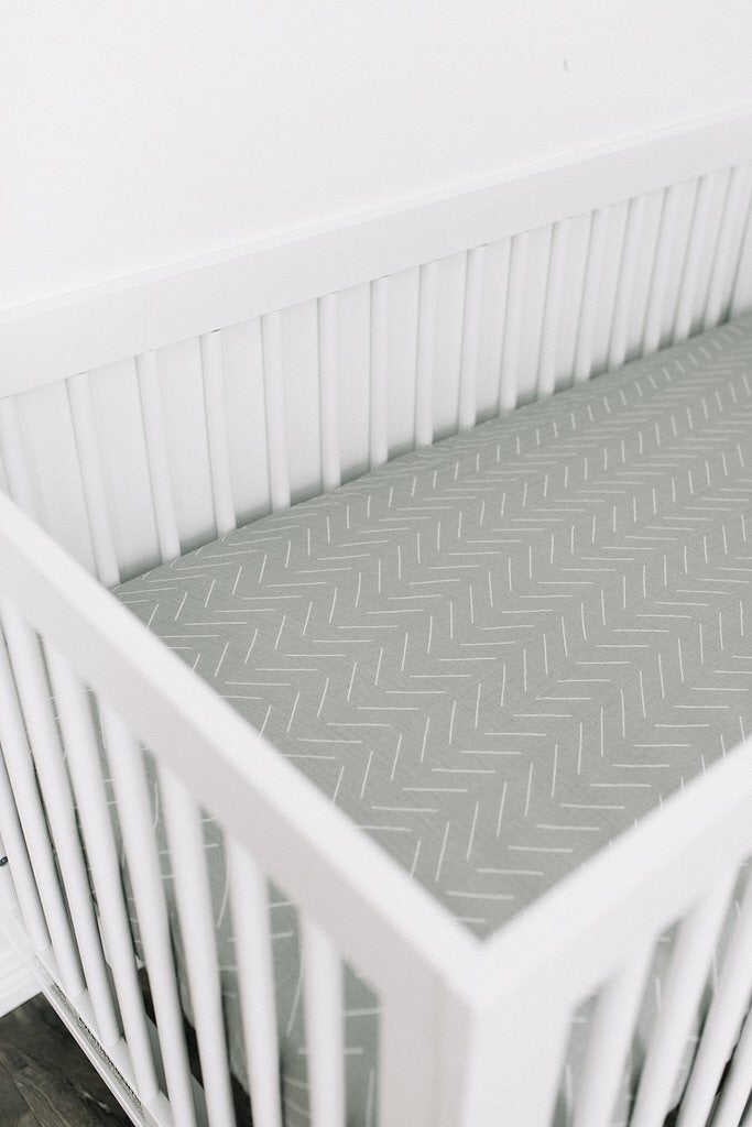 Dessert Sage Crib sheet - Boutique Wanderlust