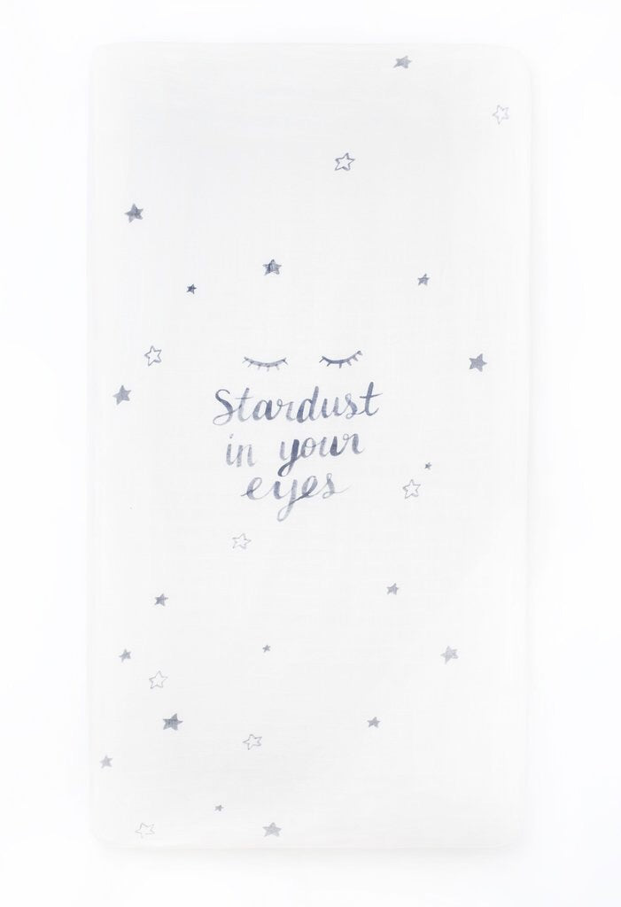 Stardust Crib Sheet - Boutique Wanderlust