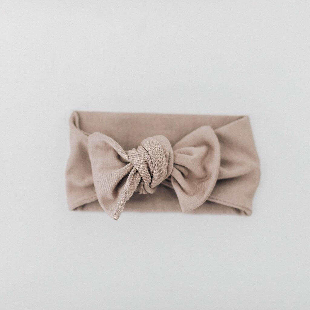 Taupe Head Wrap - Boutique Wanderlust