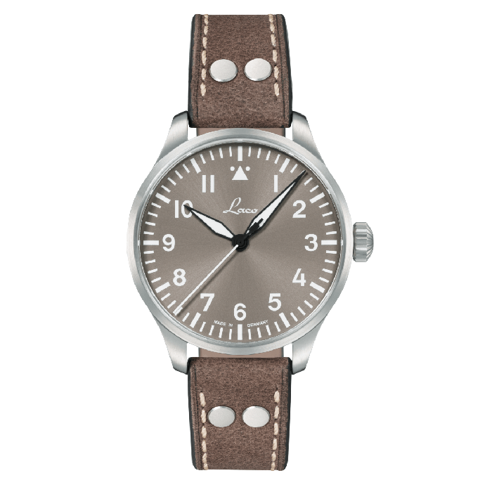 Laco Flieger - Augsburg Taupe Limited Edition 39MM - Watchus