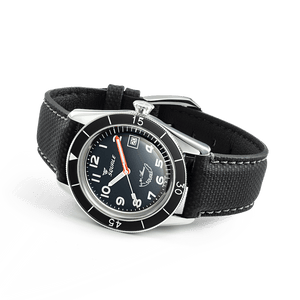 Squale SUB-39 Black Arabic - Watchus