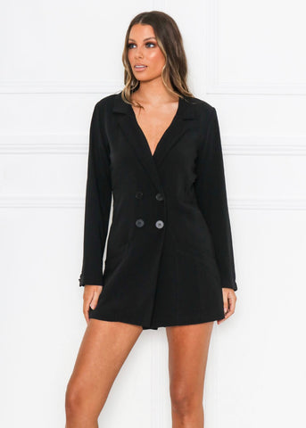 Kimora Playsuit I Black