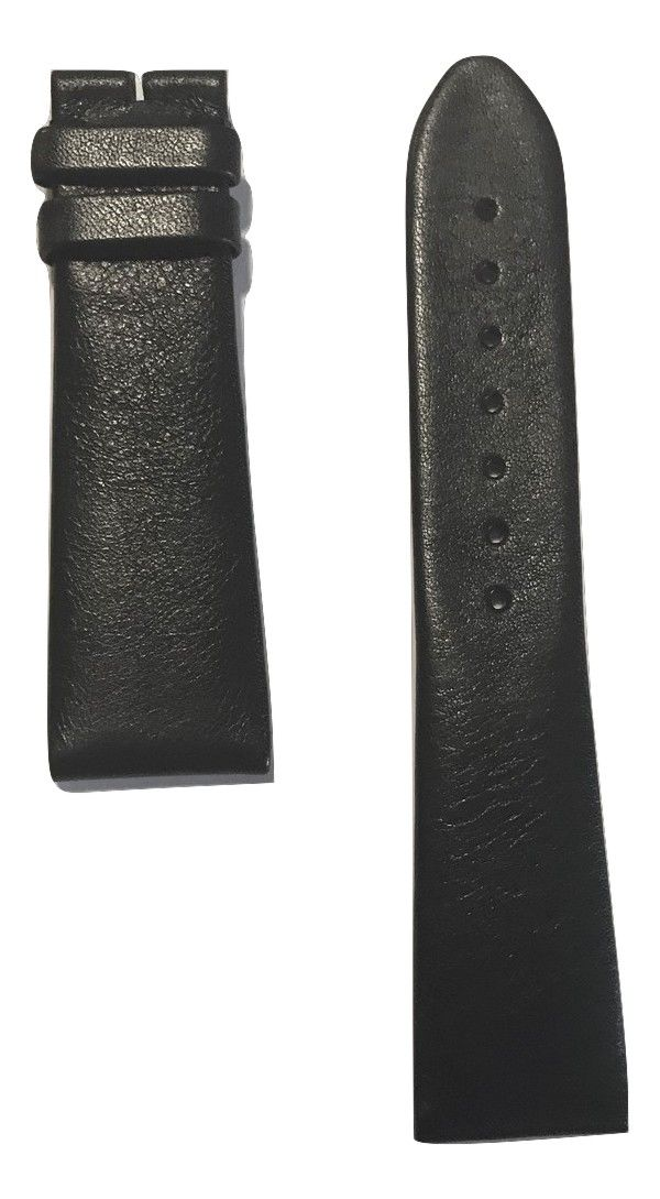 Movado Museum 0606502 Men's Black Leather Watch Band
