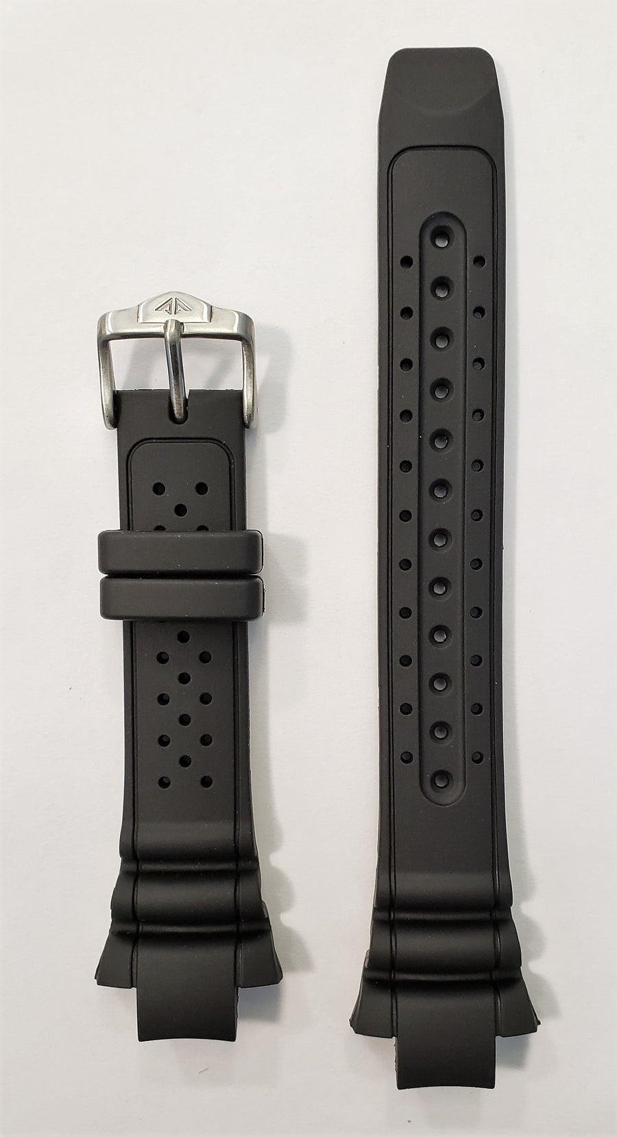 Citizen Cyber T004164 / T004172 Black Rubber Watch Band