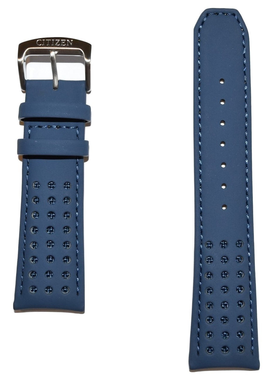 citizen blue angels leather band