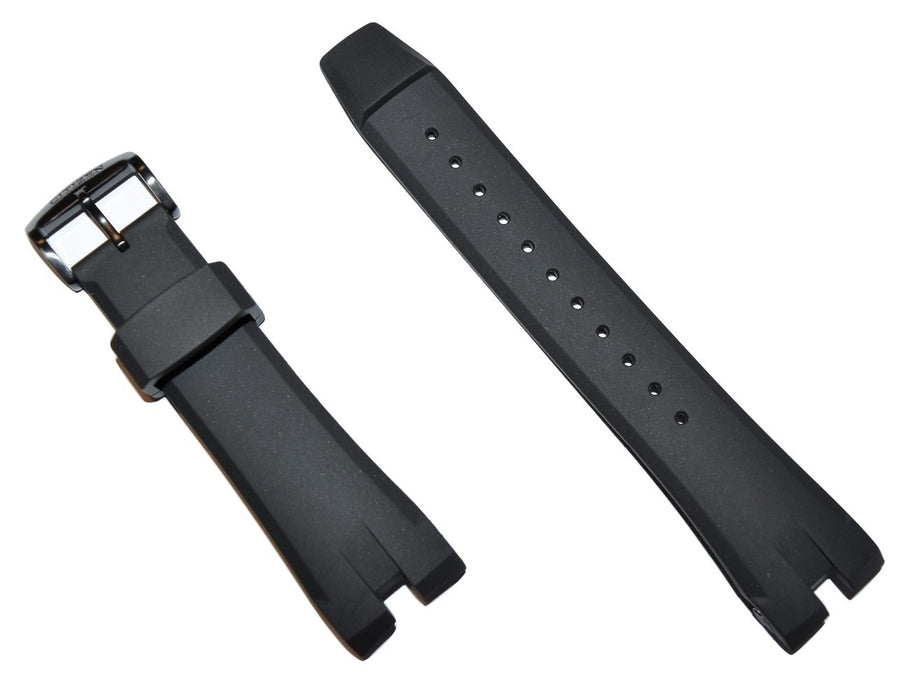 Citizen Ecosphere Black Rubber Band Strap for Watch Model CA4155-12L