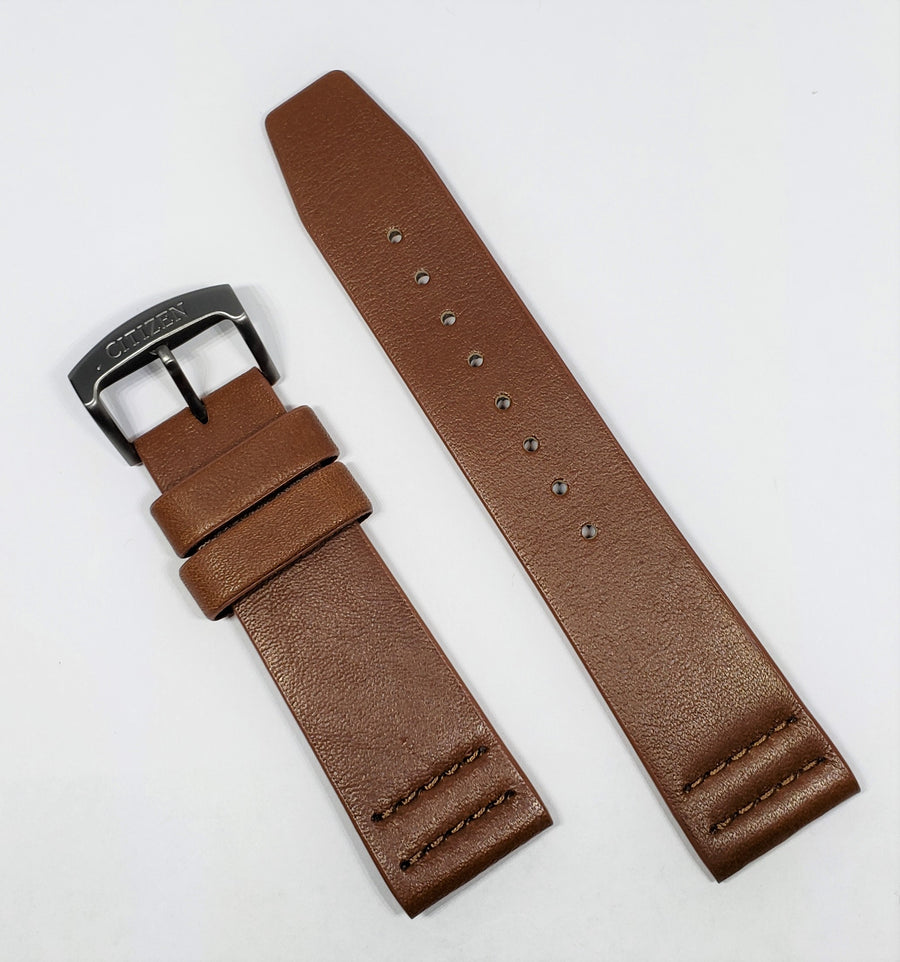 Citizen Drive 22mm AT2447-01E Brown Leather Strap Band