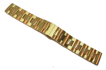 Movado BOLD 18mm Gold-Tone Stainless Steel Watch Band Bracelet #0005 - WATCHBAND EXPERT